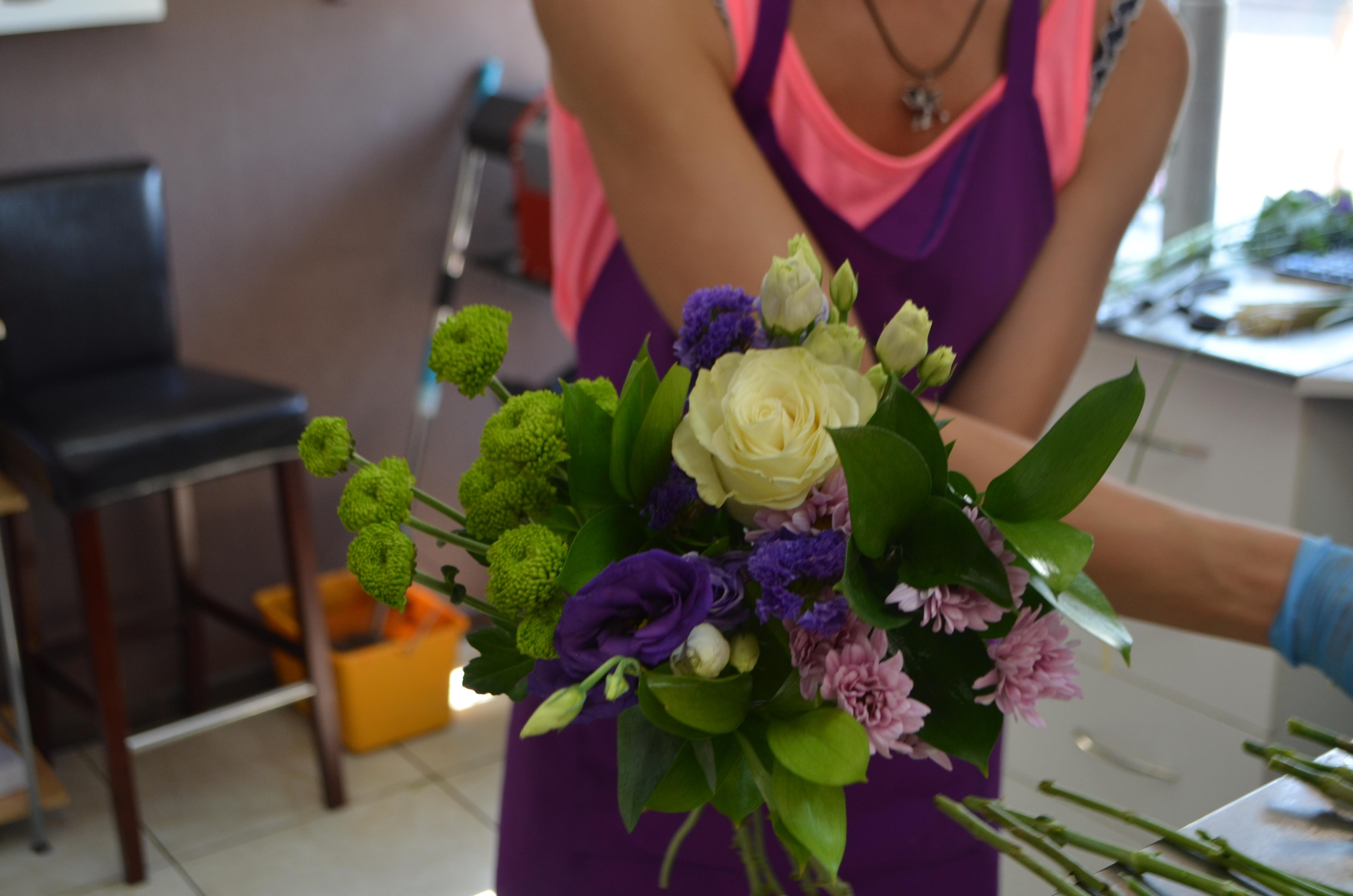 Как собрать красивые букеты цветов: фото