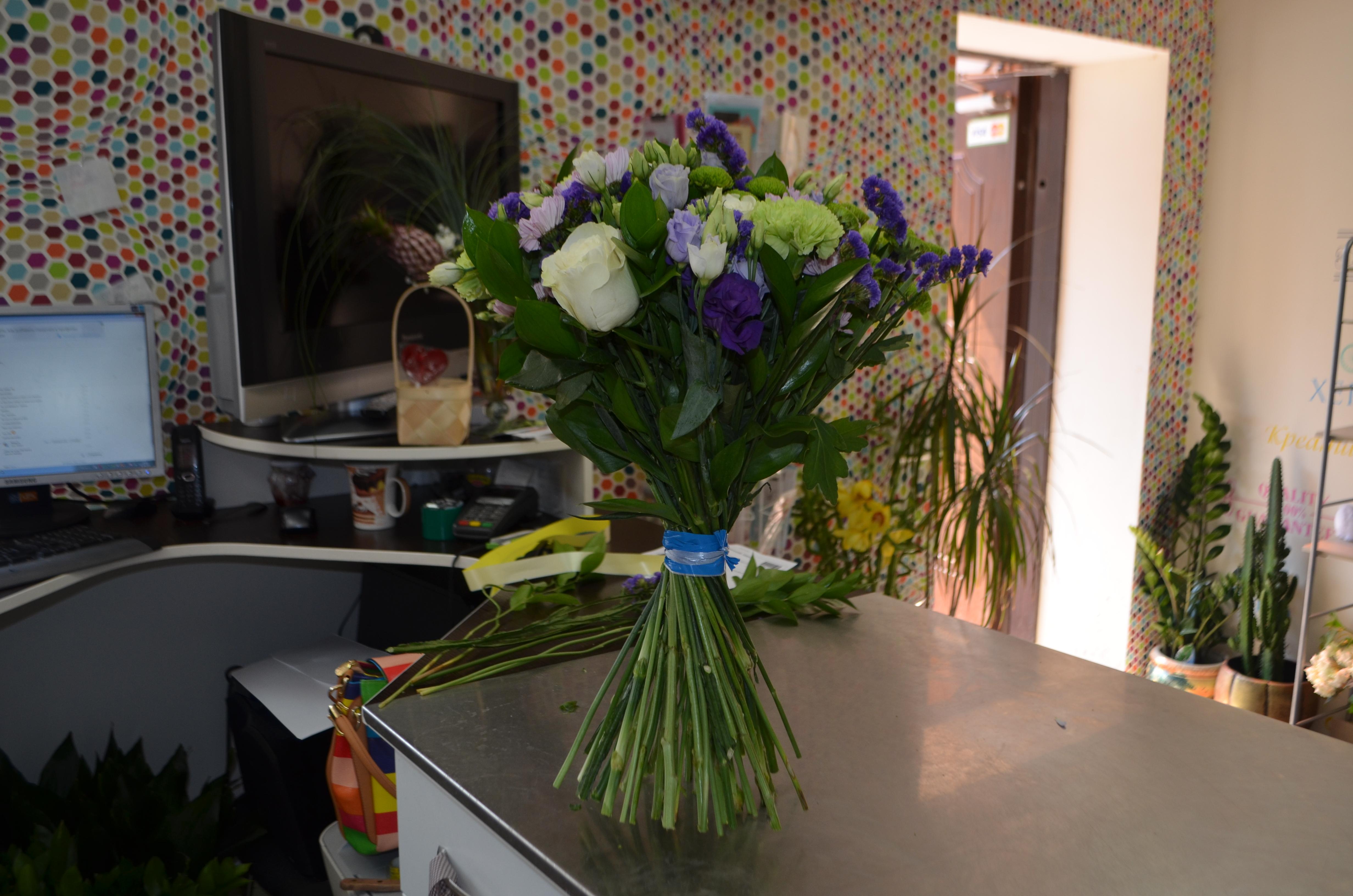 Как собрать красивые букеты цветов: фото 4