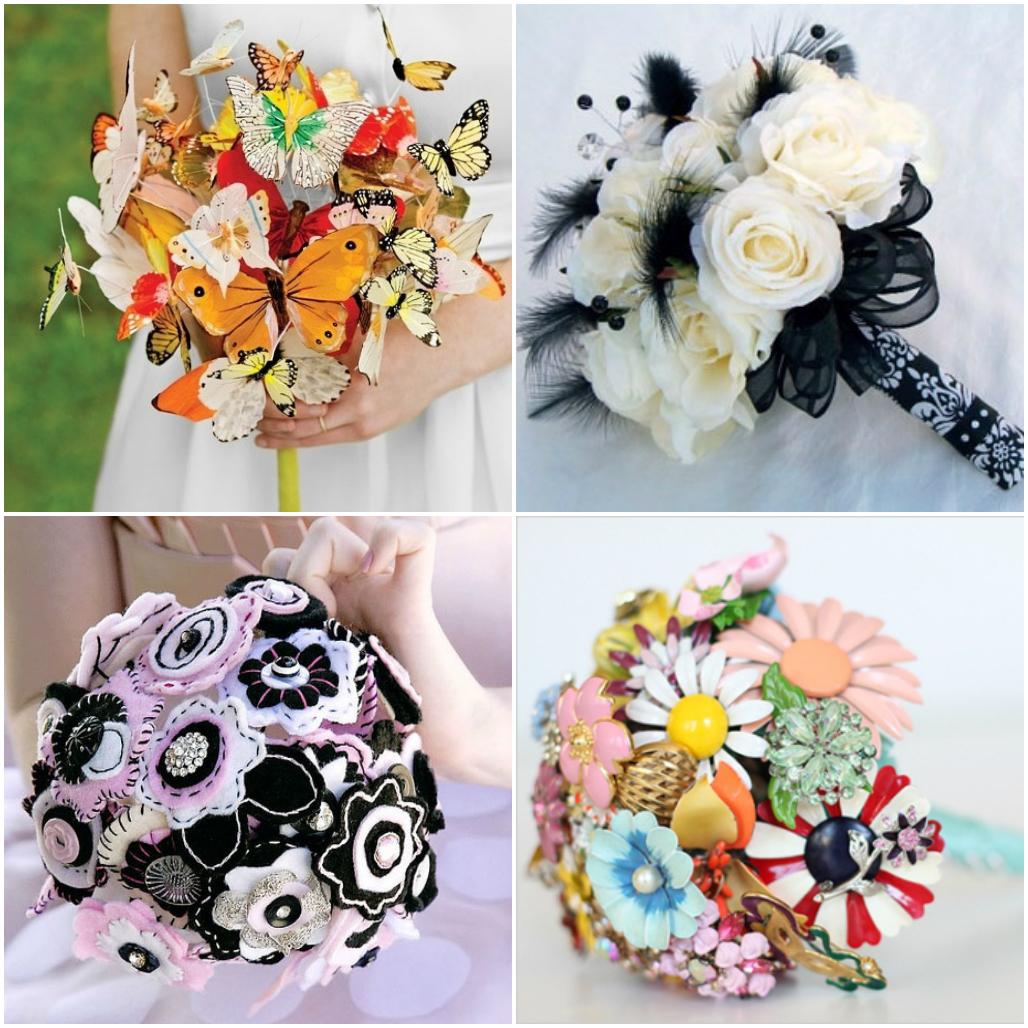 Букет цветов из бумажных цветов своими руками фото 953
