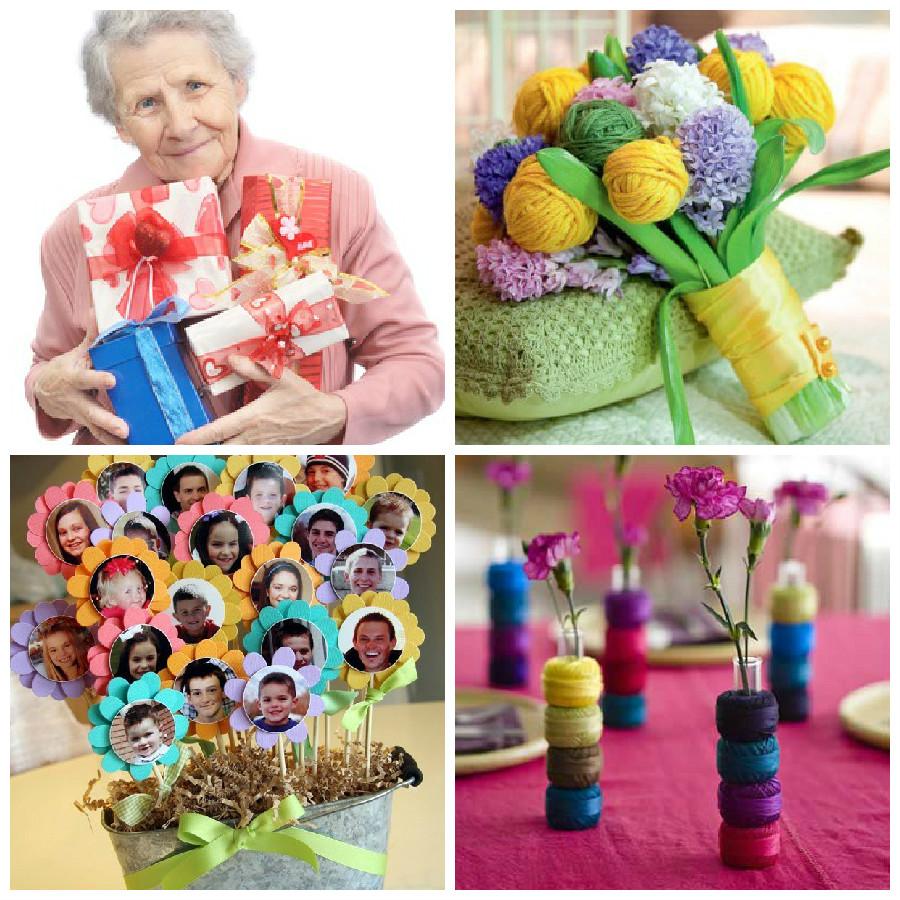 Подарок бабушке на день рождения картинки