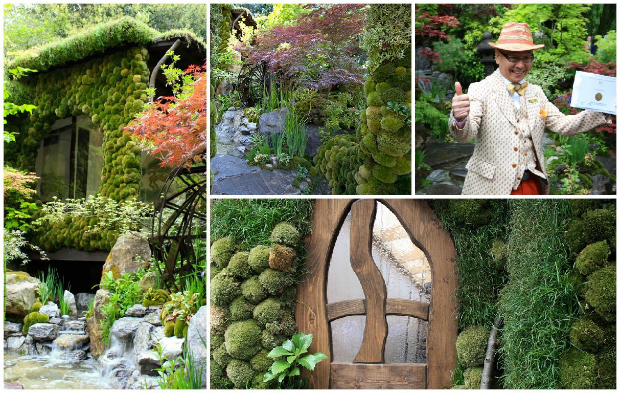 Секретный сад на крыше от японского флориста
