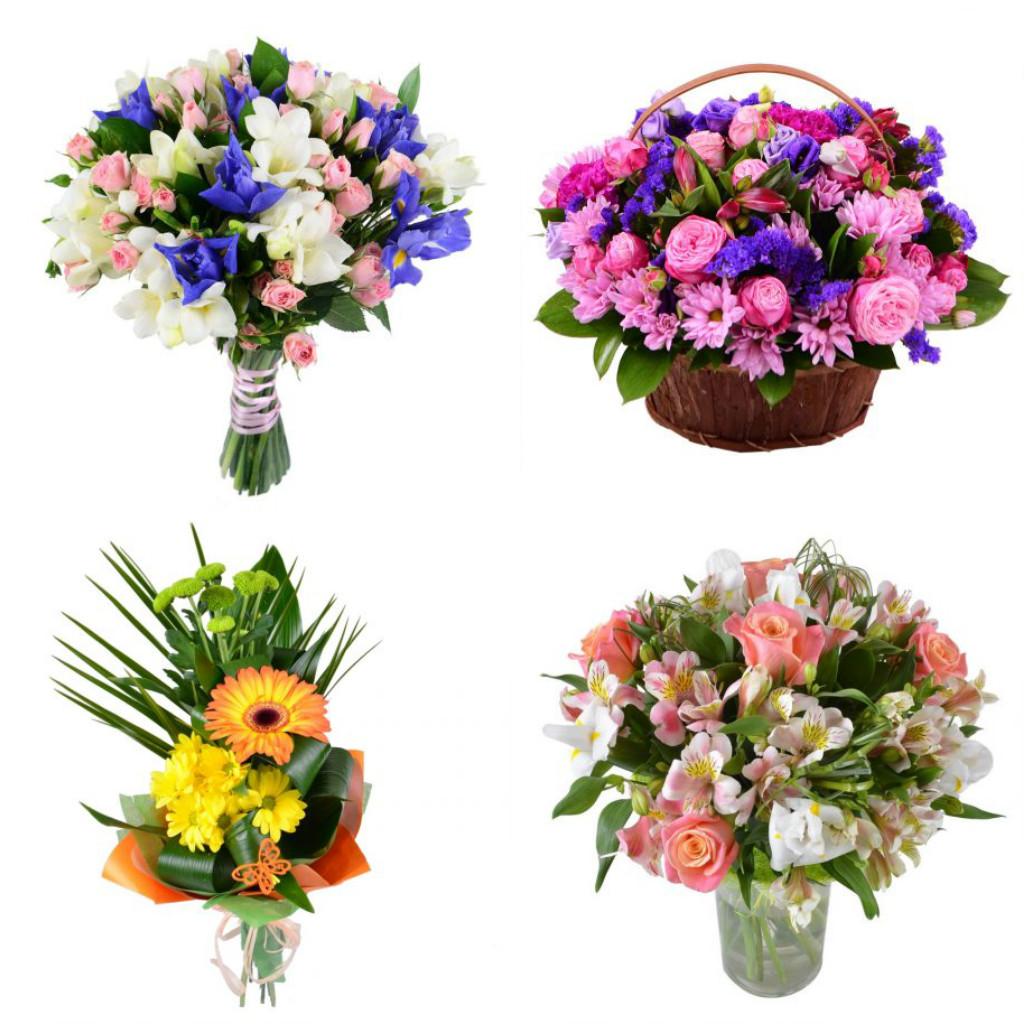 Ромашки цена, распределение цветов в букете должно быть